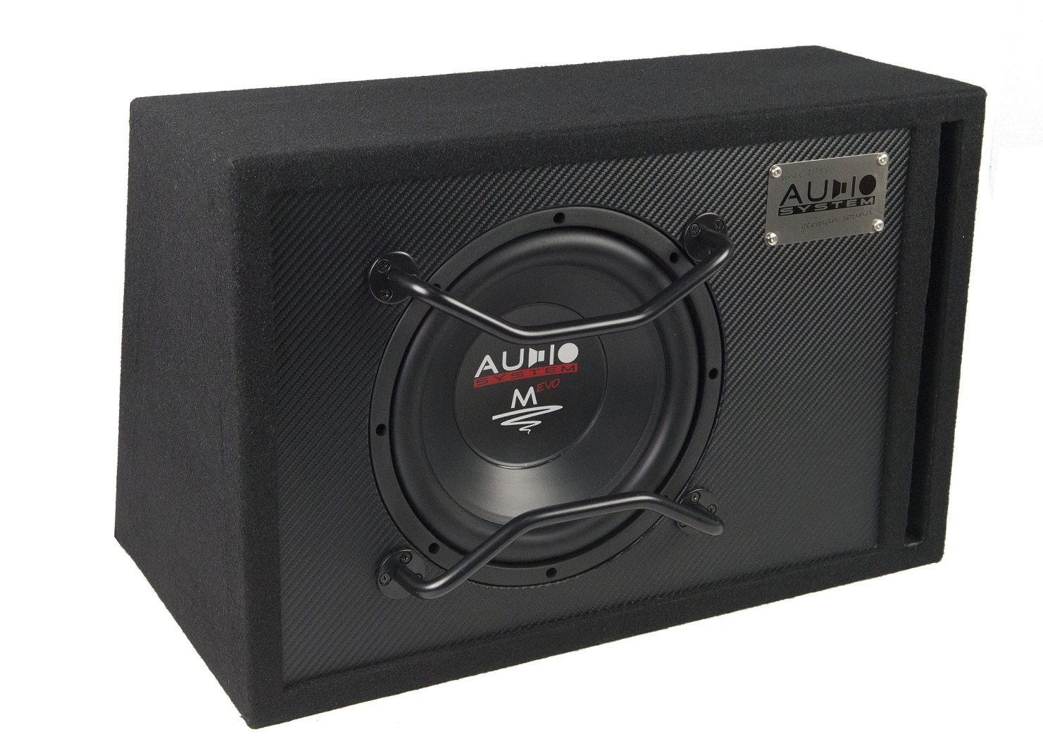 Audio System M 10 EVO BR 25cm Bassreflexgehäuse M-SERIES EVO HIGH EFFICIENT 300 Watt RMS