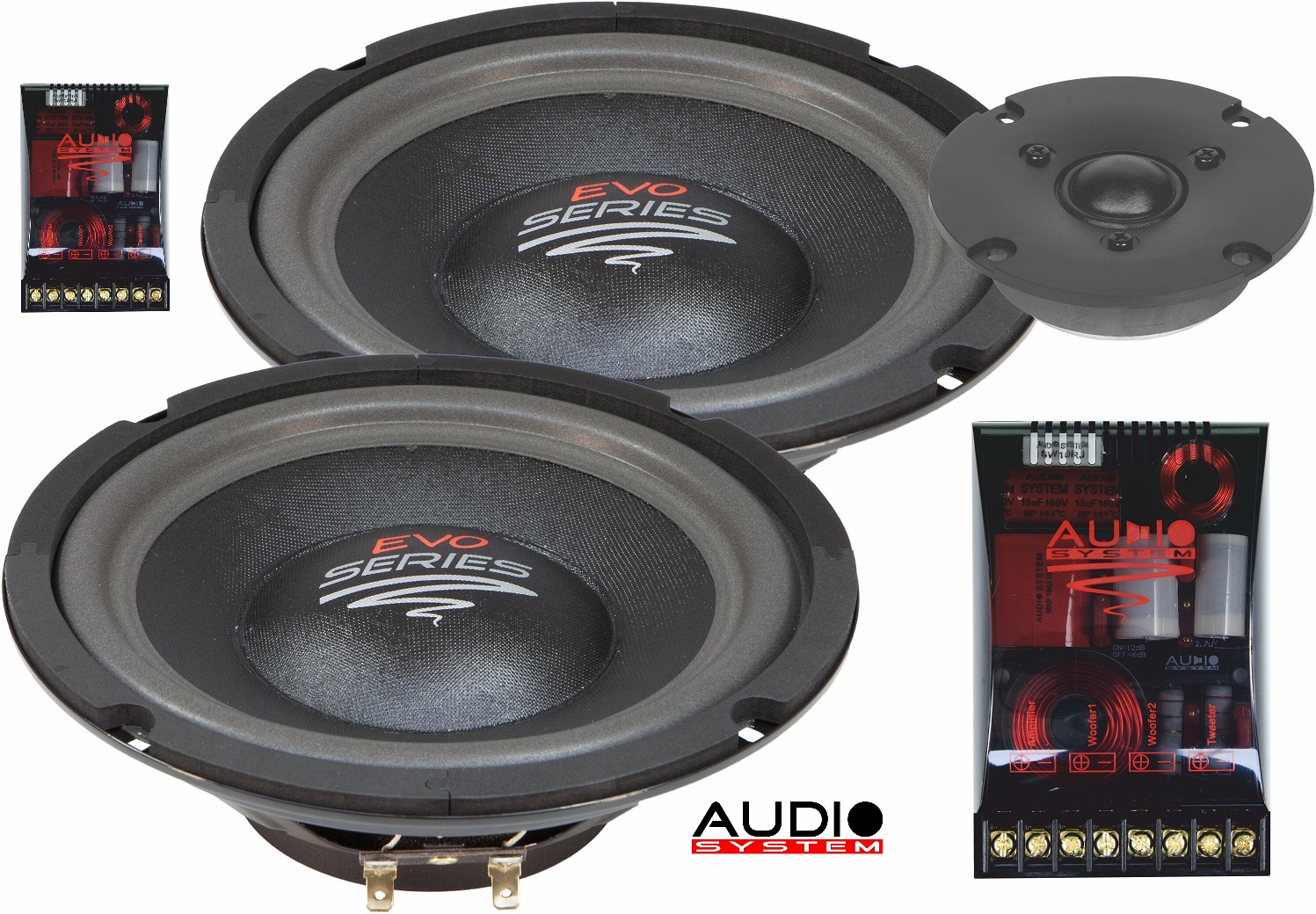 Audio System R 2/20 FLAT 2-way 20cm Composystem for rear area