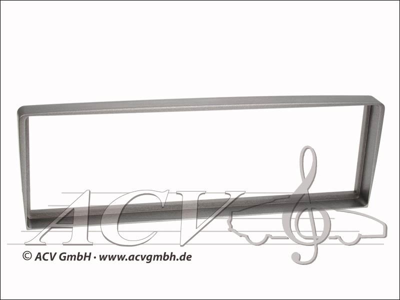 Radioblende Alfa 156 / GT silber
