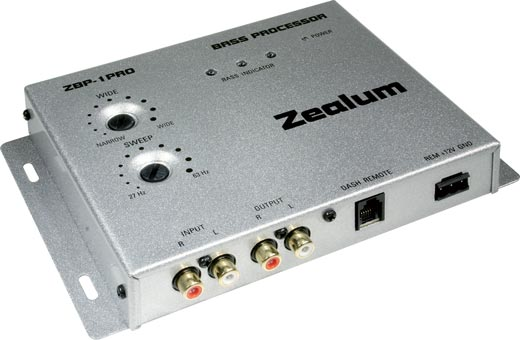 ZEALUM ZBP-1PRO Bass Processor