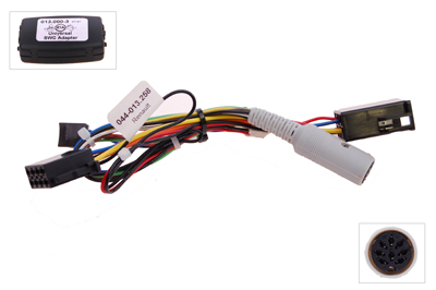 RTA 013.258-0 Steering wheel with steering wheel remote control adapters for vehicles without CAN bus controller