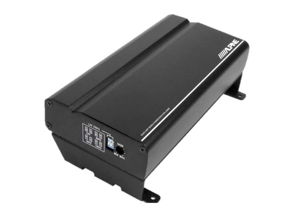 Alpine KTA-200M Class-D Digital Mono Verstärker Power 1x 400 Watt