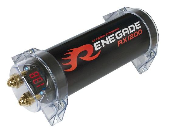 Renegade RX1200 1.2 Farad-Pufferelko RX 1200