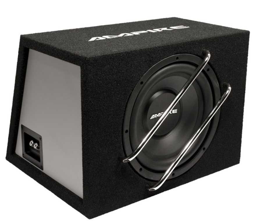 "AMPIRE BV300 Subwoofer enclosure with VLEX12, 30cm (12 "") bass reflex 700 watts"