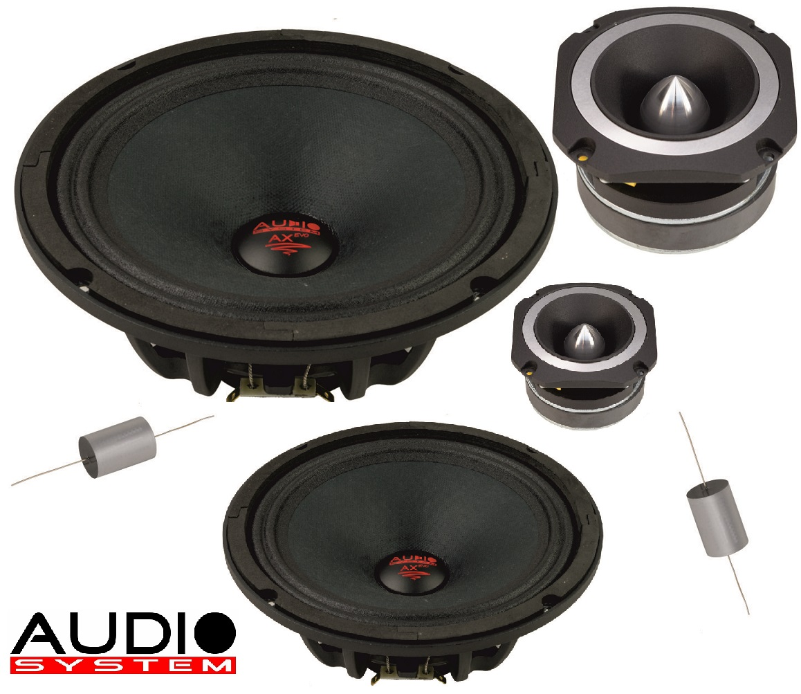 Audio System H 200 PA Helon SERIES PA 20cm 2-Wege NEO Compo System 800 Watt