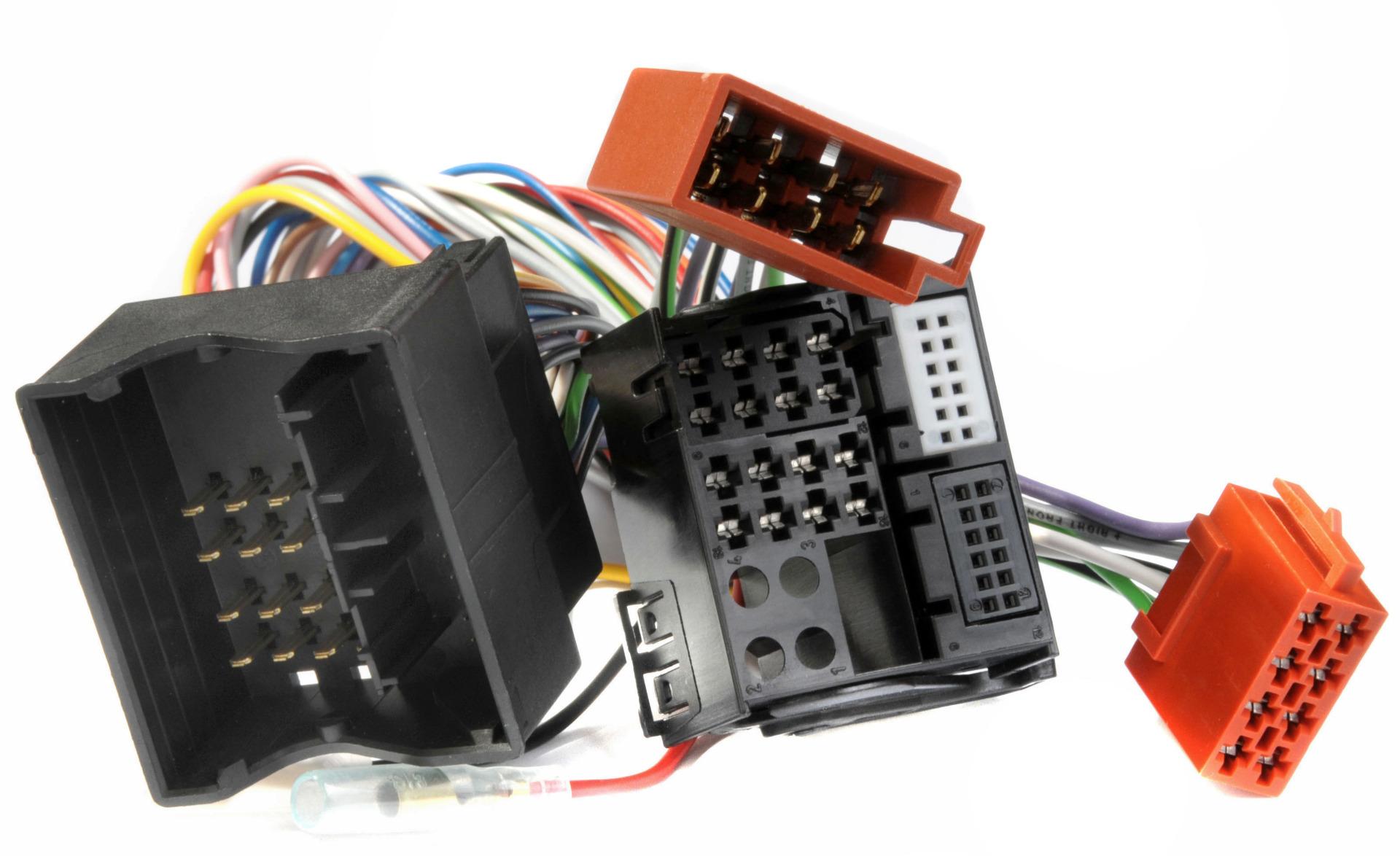 I-Sotec AD-0123-UNI Radioadapter für VW, BMW, Ford, Skoda, Opel, Audi