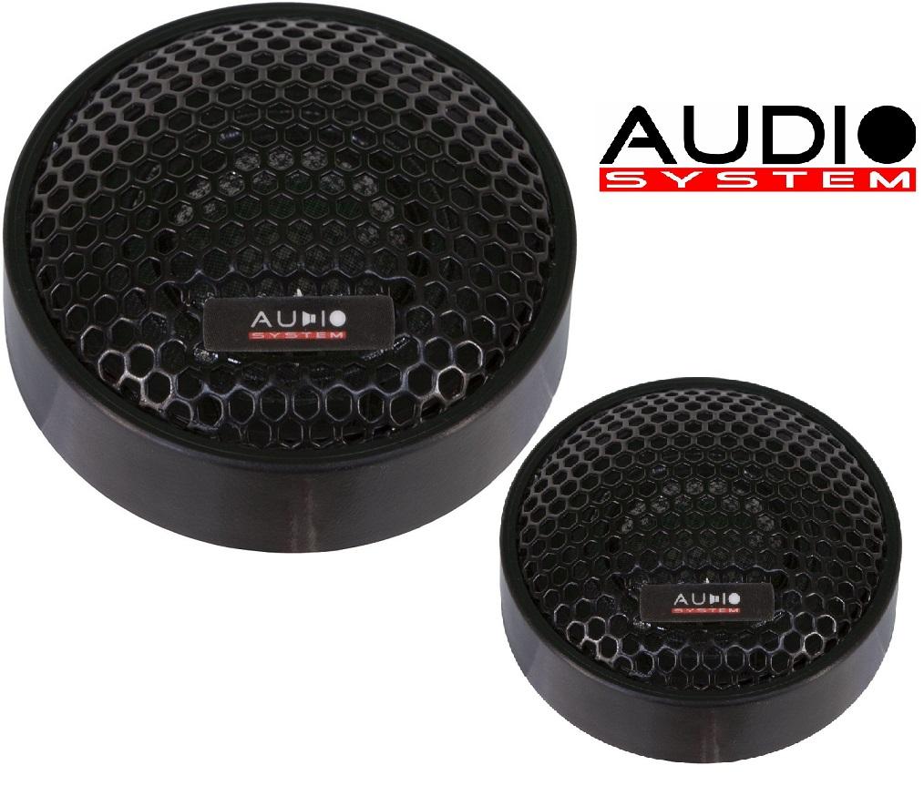 Audio System HS 19 EVO AUDIO SYSTEM 19 mm Gewebe-Neodymhochtöner 1 Paar Hochtöner Tweeter