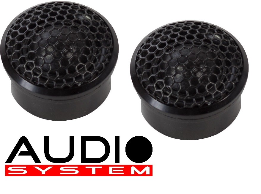 AUDIO SYSTEM AV 26 AVALANCHE-SERIES 26 mm ABSOLUTE HIGH-END Hochtöner mit Neodymantrieb 1 Paar 100 Watt