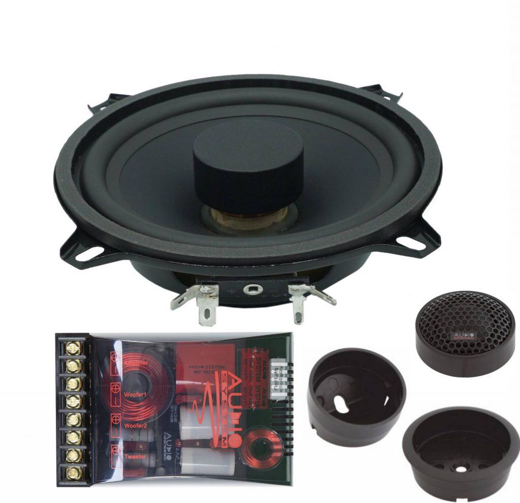 Audio System X 130 FLAT EVO 2 flaches 13cm Lautsprecher System X--ION-SERIES 2-Wege System