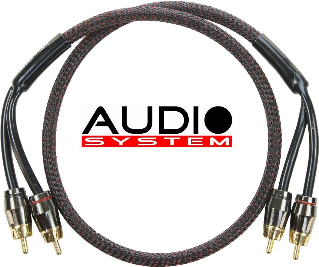 Audio System Z-PRO 0,25 HIGH-END Cinchkabel 25 cm OFC Cinchkabel