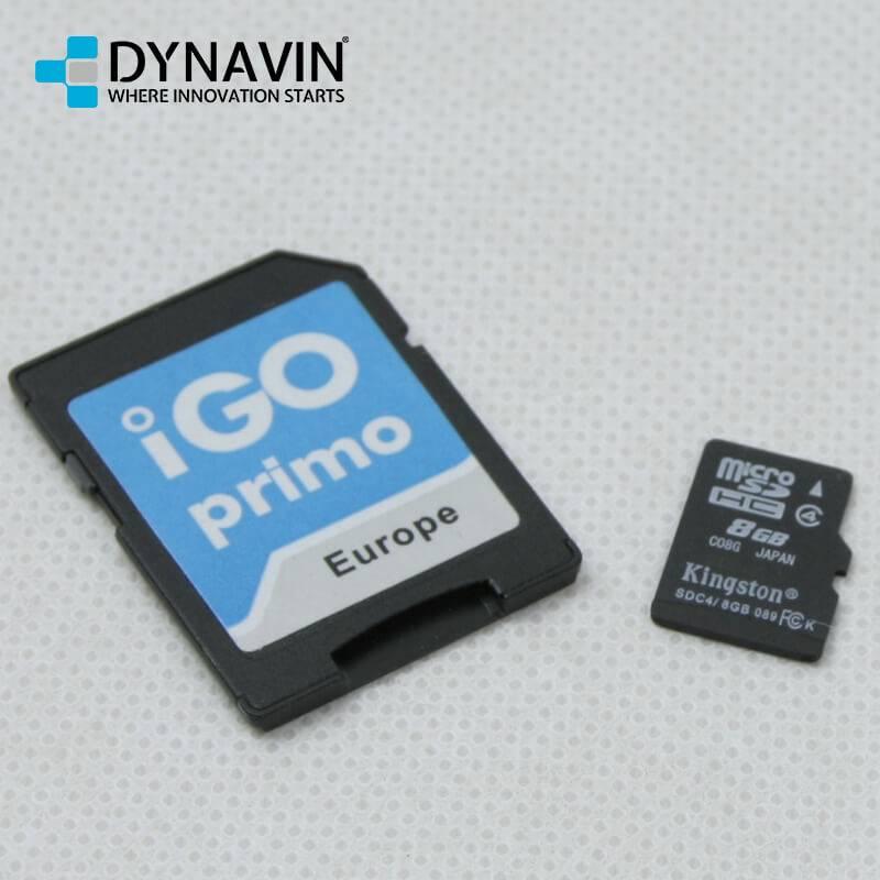 Dynavin DVN IGO TTS Navigationssoftware iGo Primo Europa (46 Länder) N6 Plattform