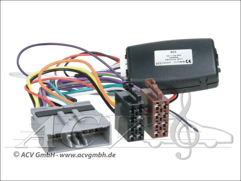 ACV 42-1132-200 Honda Civic adaptateur de roue / CR-V 06 -> Panasonic