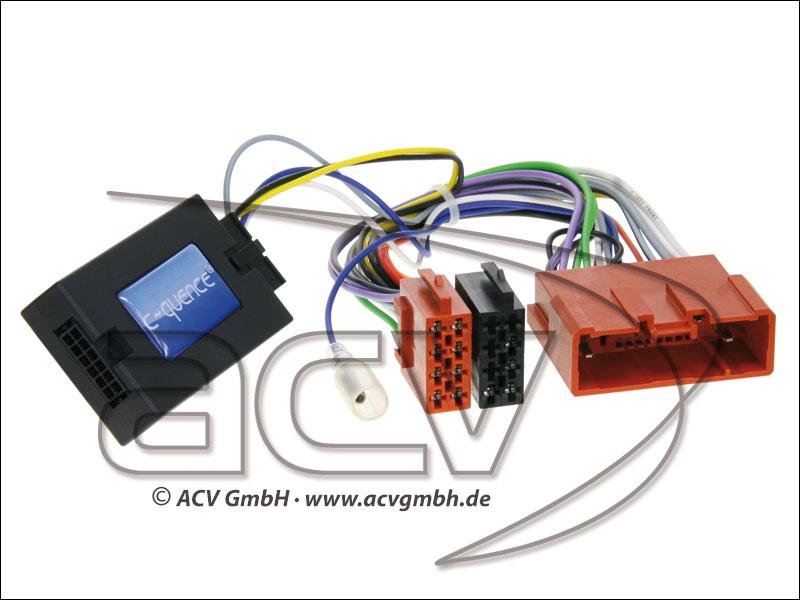ACV 42-MZ-209 Wheel Adapter Mazda CX-7 - nessuno di Bose-> Panasonic