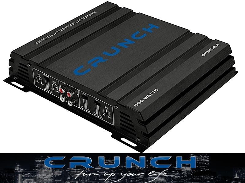 Crunch GPX500.2 2CH Verstärker, 2 x 250 Watt max. GPX 500.2