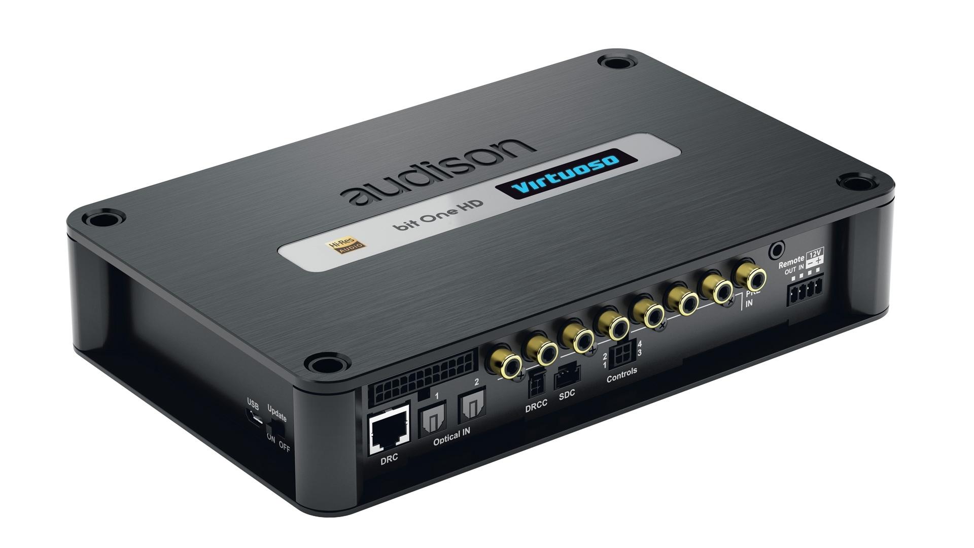 Audison bit One HD Virtuoso HI-RES SIGNAL PROCESSOR 13-Kanal High END DSP