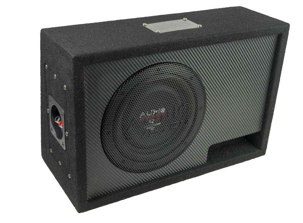 Audio System R 08 FLAT BR  ACTIVE EVO Subwoofer + Monoamplifier R 08 FLAT + CO-200.1