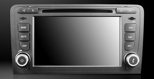 Dynavin DVN-A3 Pro edia Navigation N7 Plattform für Audi A3 (8P / 8PA) + Navigationssoftware