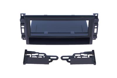 RTA 000.056-0 1- DIN Einbaurahmen, Ausführung ABS schwarz CHRYSLER, DODGE, Jeep