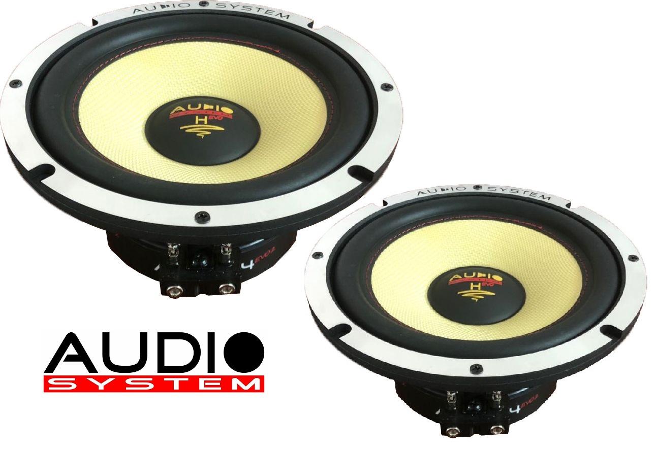 Audio System AX 165-2 EVO 2 Tief / Mitteltöner / Midrange 16,5cm Lautsprecher 1 Paar