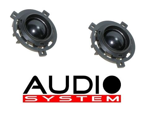 Audio System HS 25 GOLF VI Hochtöner für VW Golf 6+7, Scirocco 1 Paar Hochtöner Tweeter