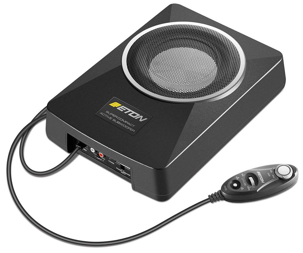 ETON USB6 16,5 cm Untersitzbass aktiv 165 mm Aktiv-Subwoofer im Gehäuse