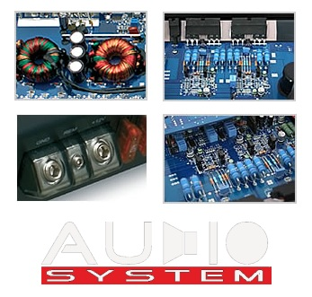 Audio System Xion X 165.4 X-SERIES 4-channel X-ion X165.4