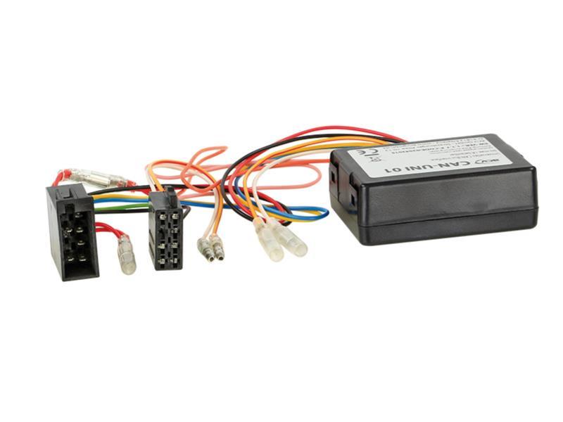ACV 1001-45-15 CAN-Bus Kit Alfa -> Strom + Lautsprecher (ISO) + ISO Antennenanschluss