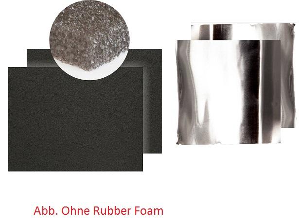 AUDIO SYSTEM DAMP II - STARTER KIT 2 (Alubutyl + Rainstop + Rubber Foam)
