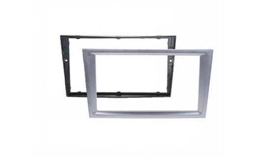 RTA 002.144P14-0 Double DIN visière principale, Matt Chrome ( de chrome mat ) Opel sans kink 00 >