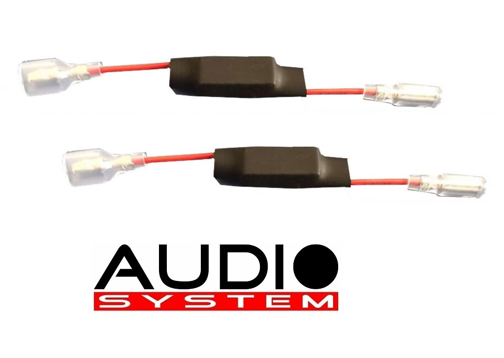AUDIO SYSTEM FWK TW LEVEL 3dB Hochton-Pegelabsenkung 1 Paar