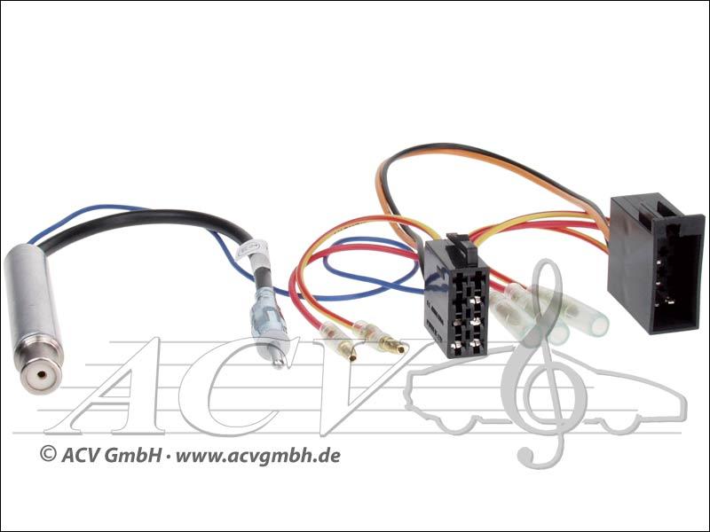 ACV 1321-46 Audi / Seat / Skoda / VW DIN-Antennenadapter