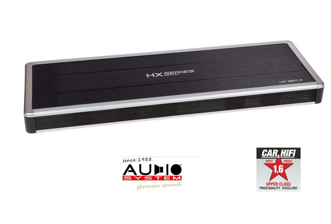 Audio System HX360.2 HX-Series 2-Kanal High End HX 360.2 Hochleistungsverstärker 3000 Watt RMS