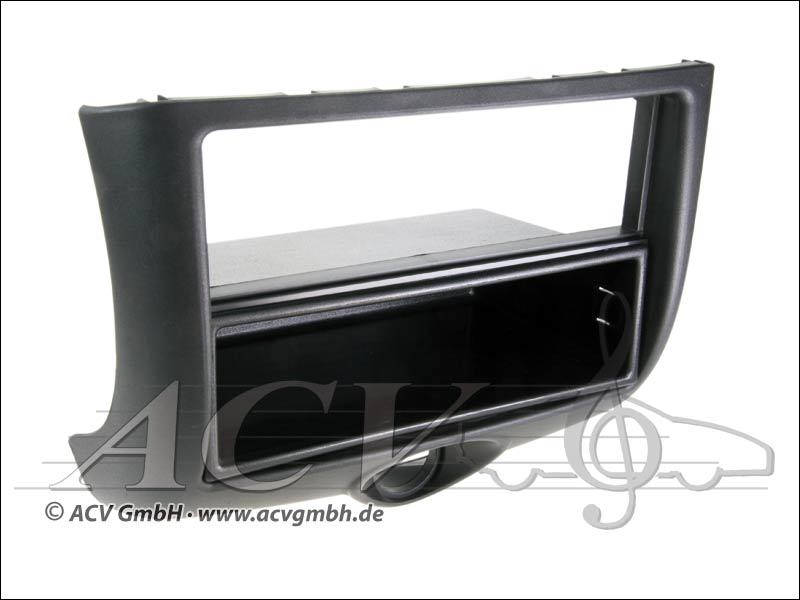 Radioblende Toyota Yaris Doppel ISO schwarz