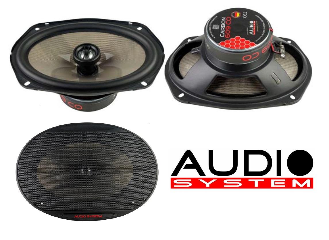 Audio System CARBON 609 CO 2-Wege 6x9 Koax Lautsprecher Speaker - 1 Paar -- NEU