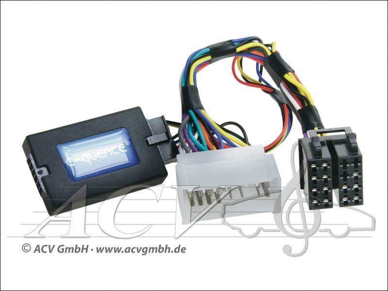 ACV 42-HY-402 steering wheel adapter Hyundai Santa Fe 06 -> Zenec