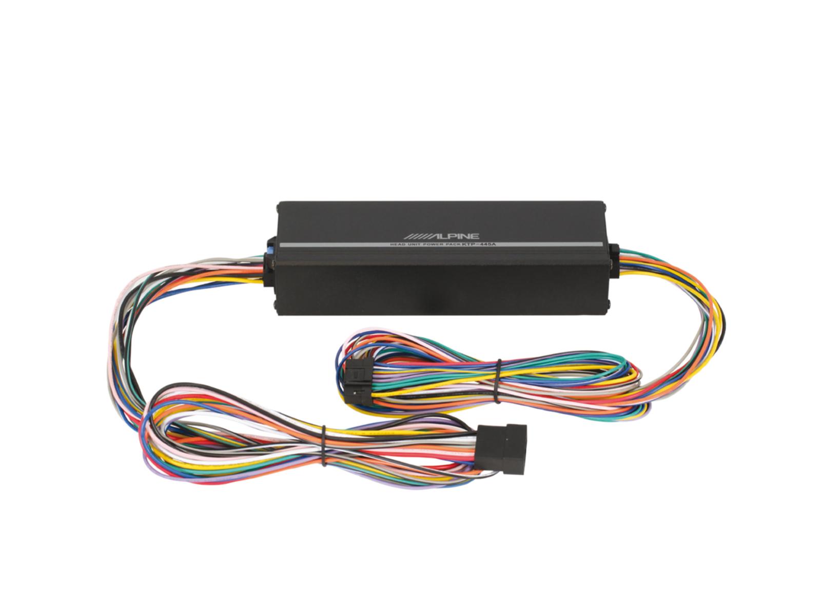 Alpine KTP-445A Headunit Power Pack für Steuergeräte 4 Kanal Verstärker Amplifier 400 Watt