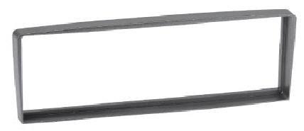 RTA 000.318-0 1- DIN Einbaurahmen, ABS silber grau ALFA ROMEO GTV,  Spider (5G)/90 - 06
