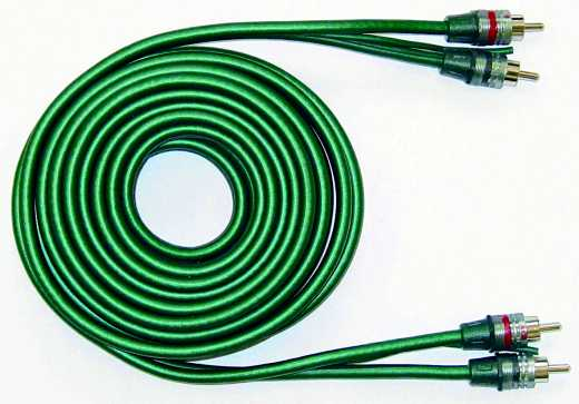 ACR HKAB0340 - Cinch 5mm-tripple 400cm W Remote  - Cinchkabel 4 meter
