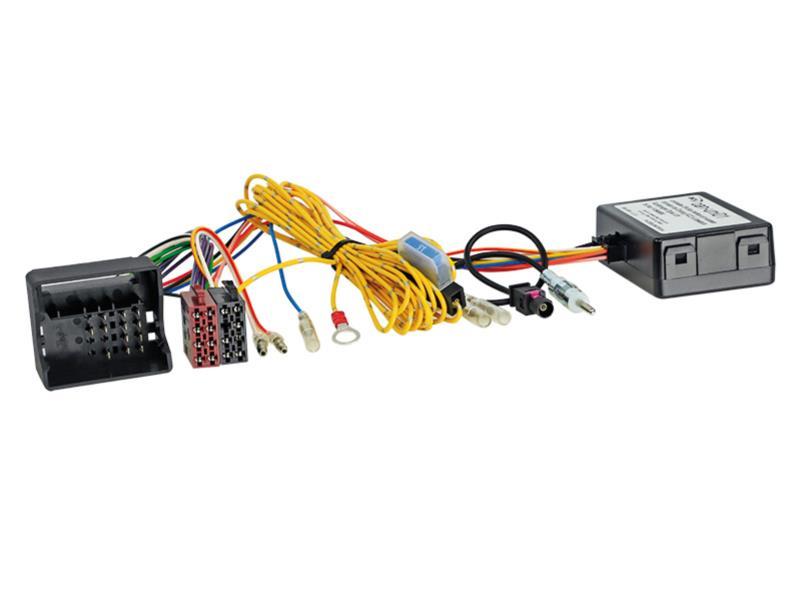 ACV 1024-46-15 CAN-Bus Kit BMW Quadlock-> Strom + Lautsprecher (ISO) + DIN Antennenanschluss