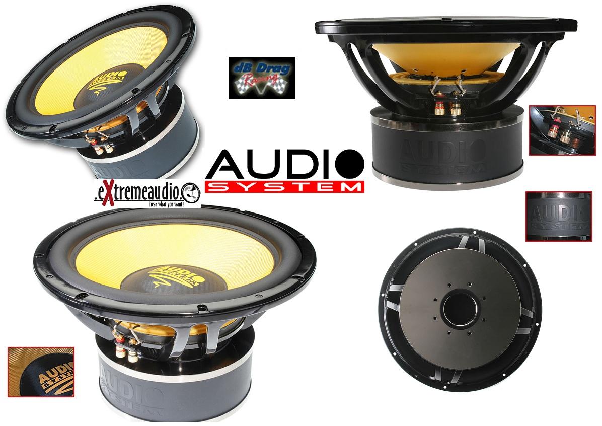 Audio System Helon 15 Spl 38 Cm High Power Subwoofer Helon15