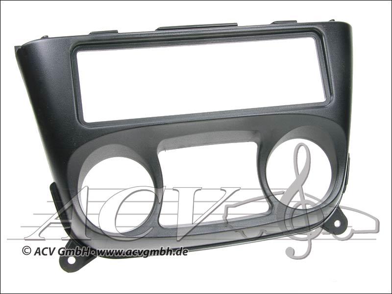 Radioblende Rubber Touch Nissan Almera schwarz