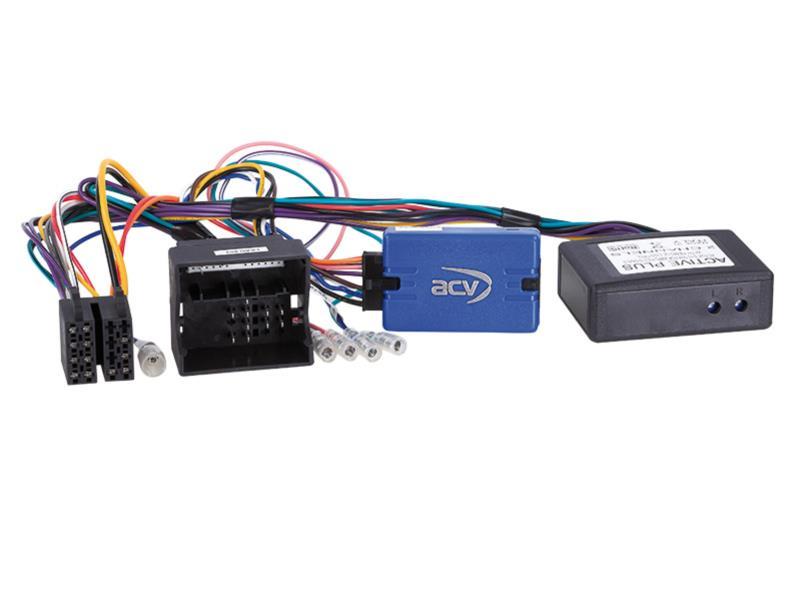 ACV 42-AD-805 SWC Audi A3 / A4 / TT Quadlock/Teilaktivsystem > Clarion