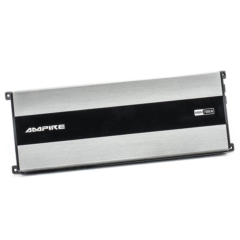 AMPIRE MBM720.6 Endstufe, 6-Kanal Verstärker Class D Ultrakompakte Bauform 720 Watt RMS/1440 Watt