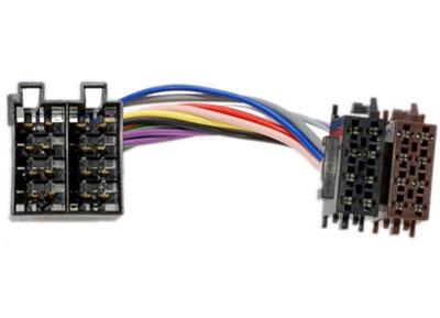 RTA 006.150-0 Adapterkabel radiospezifisch für Opel, Mercedes und Saab