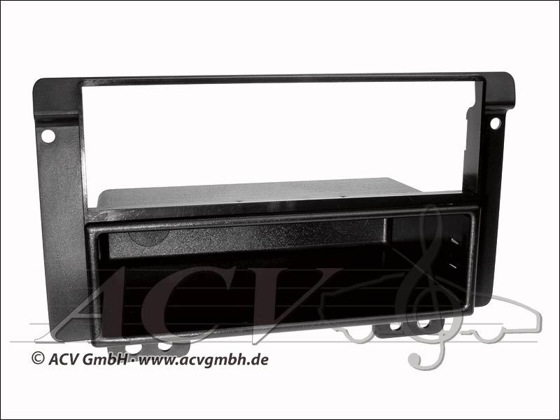 Radioblende Land Rover Freelander ISO doppio nero