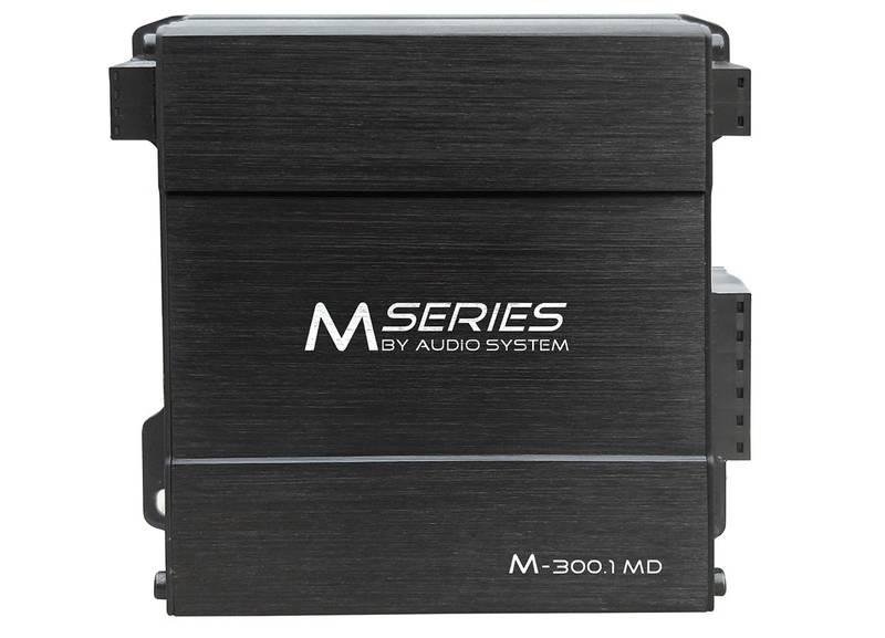 Audio System M-300.1 MD M-SERIES Mono MIKRO-Digital-Endstufe Amplifier 300 Watt RMS