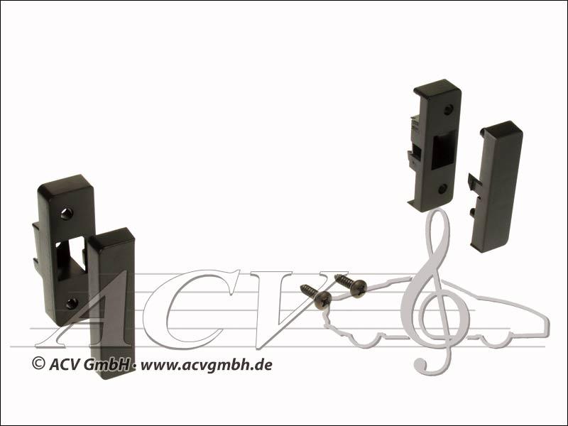 ACV 281.320-02 1-DIN radio lunetta Audi A3 8L 1996 -> Nero