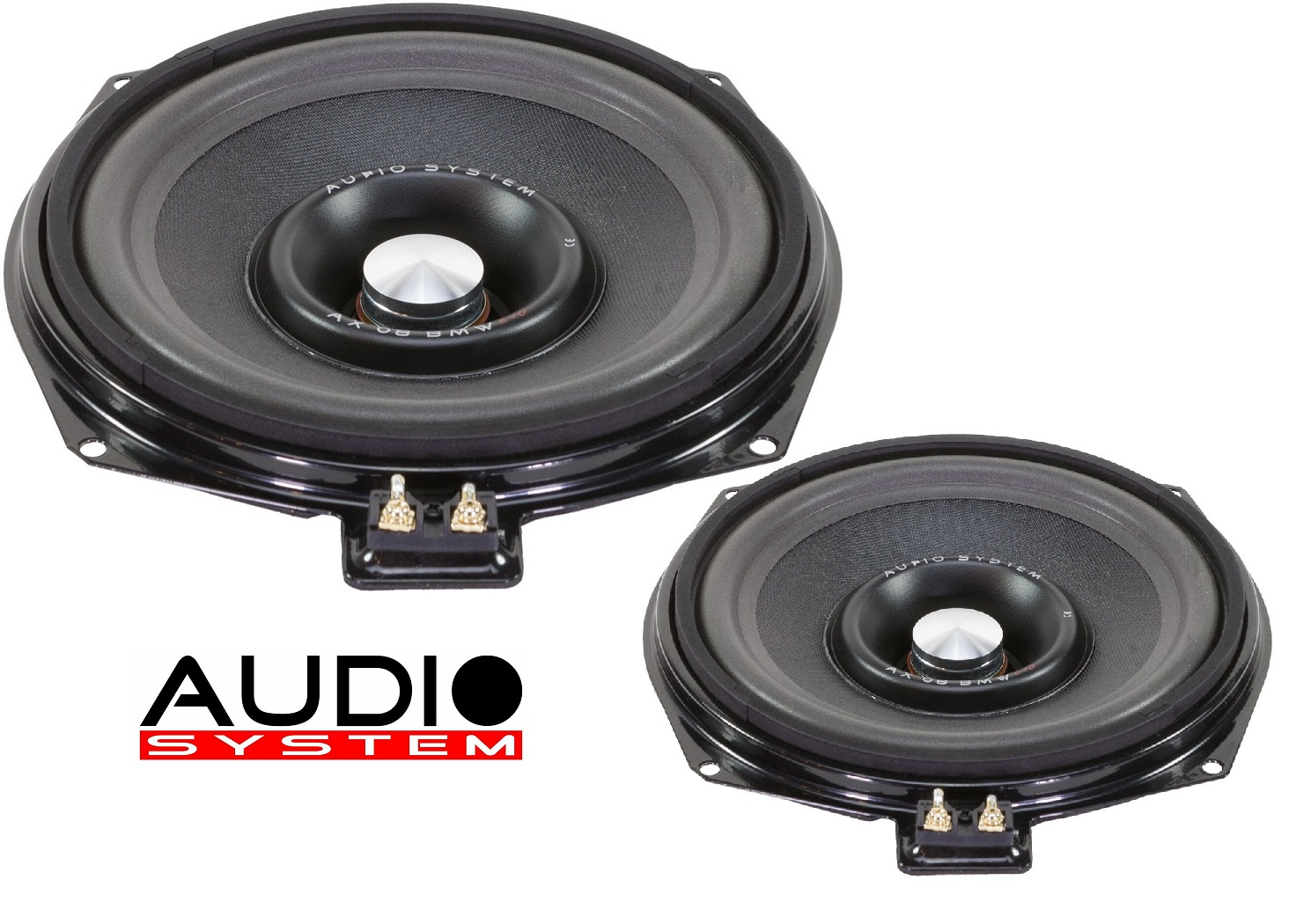 Audio System AX 08 BMW EVO 2 Subwoofer 20cm BMW E und F BMW Modelle 1 Paar