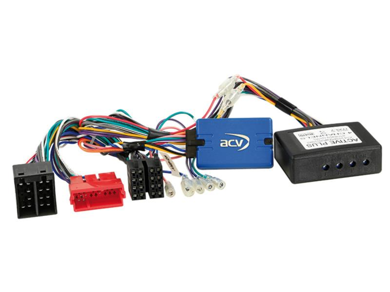 ACV 42-AD-808 SWC Audi A3 / A4 / TT ISO / Full Active System > Clarion