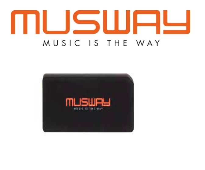 Musway PBMW-1000 Powerbank / 10.000mAh Power Bank mit QI Ladefunktion